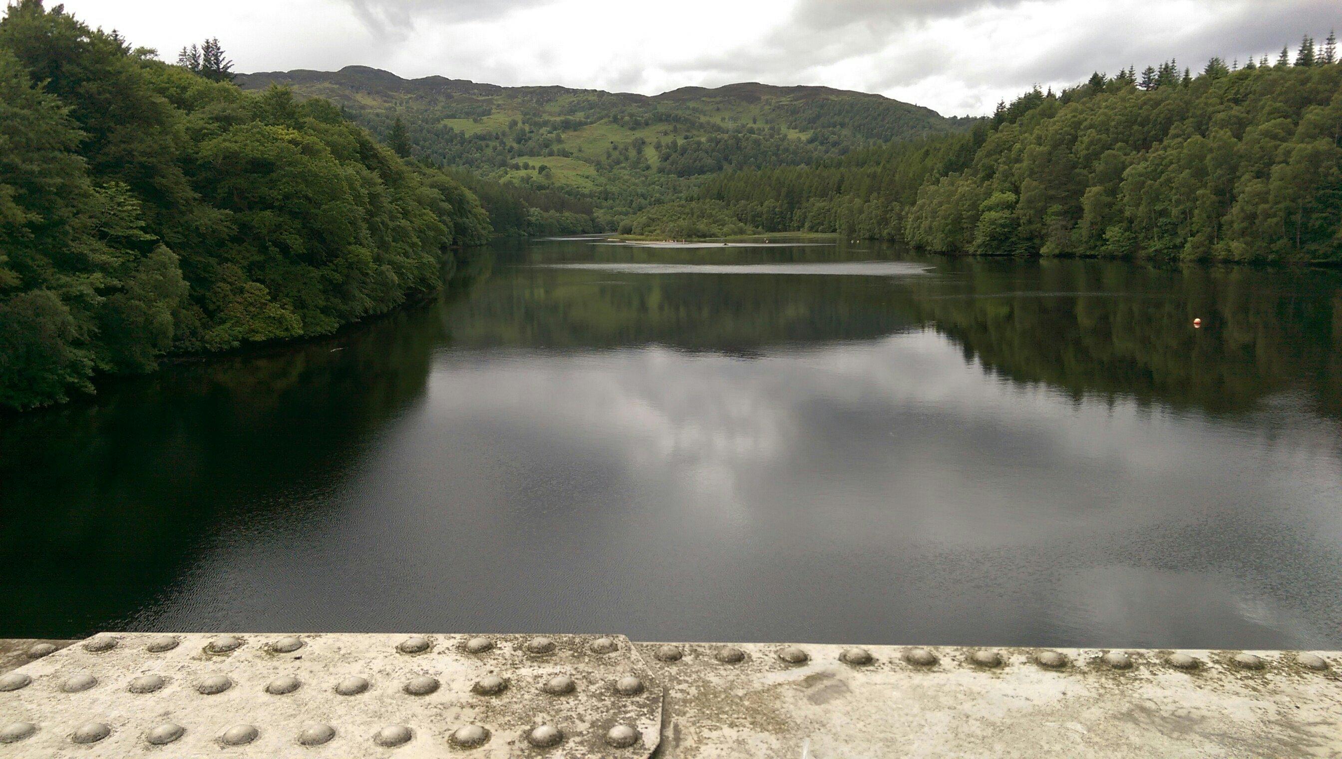 Pitlochry Schottland Bild